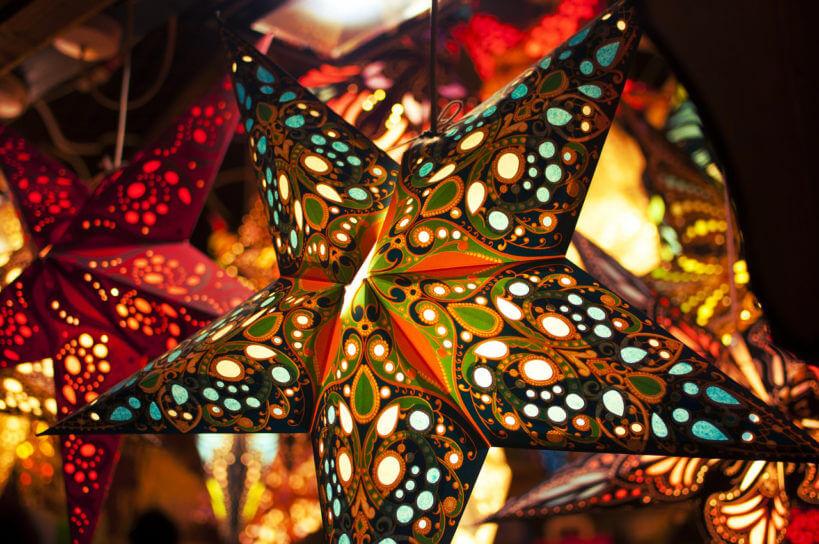 Weihnachtsbeleuchtung plastikfrei