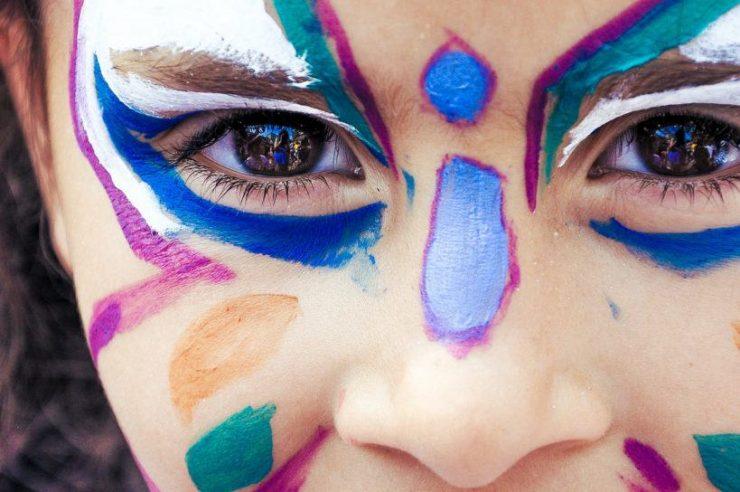 Karnevalsschminke und Kinderschminke plastikfrei