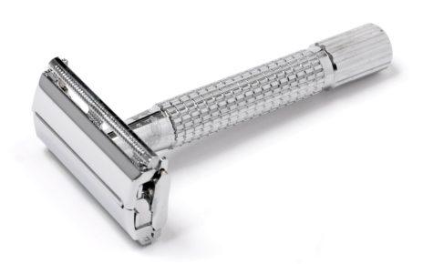 Plastikfrei rasieren, Rasierhobel Edelstahl