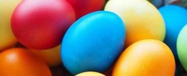 Ostereier färben ohne Plastik