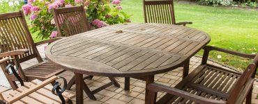 Gartenmöbel ohne Plastik einölen