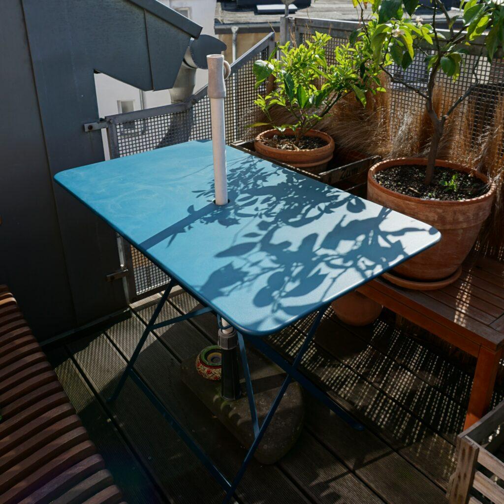 Balkonmöbel ohne Plastik